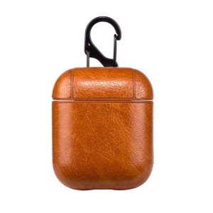 Leather Case for Apple Airpods - Light B...