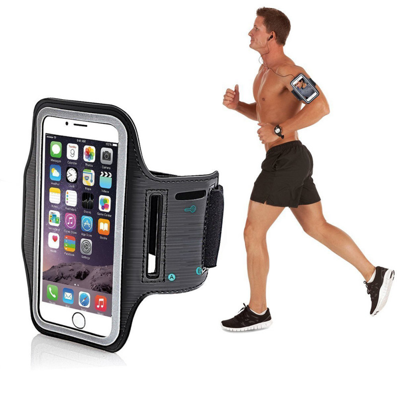 Real Craze Adjustable Sports Running, Gym, Cycling Anti-Slip Ultra Light Weight Armband Mobile Holder