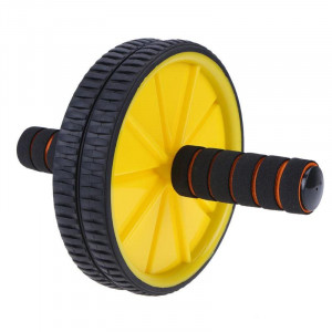 Double Wheel Ab Roller For GYM Exercise ...