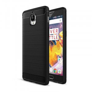 Carbon Texture Cover For OnePlus 3/3T - ...