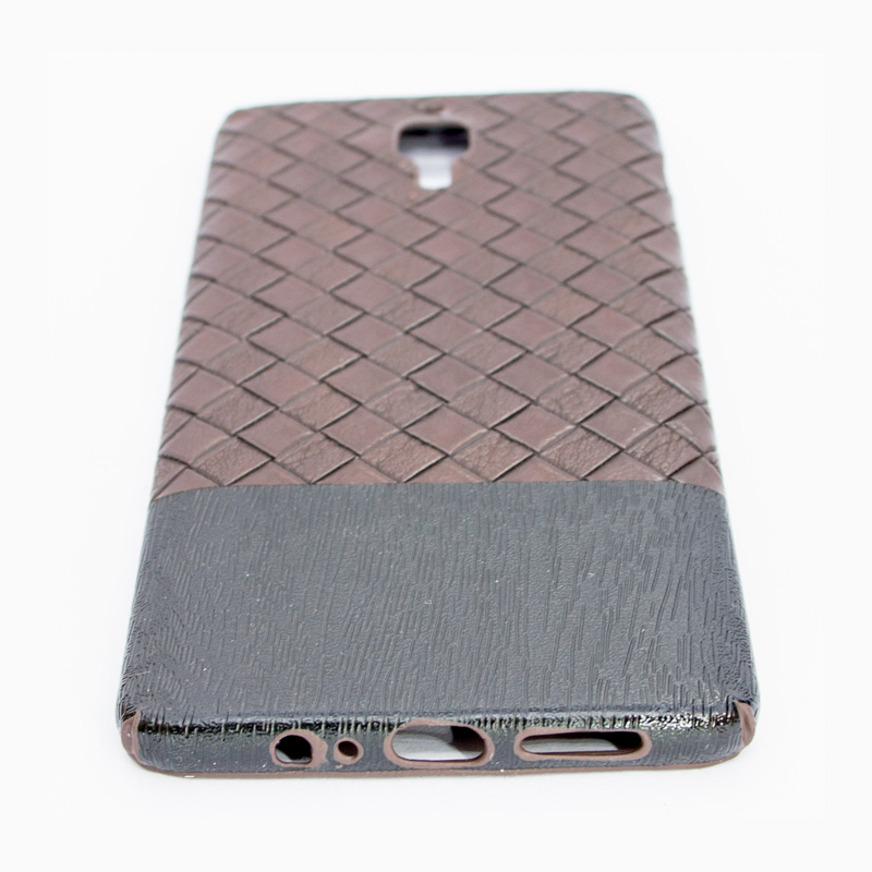 Oneplus 3/3T - Cool Wild Style PU leather Back Cover - Brown