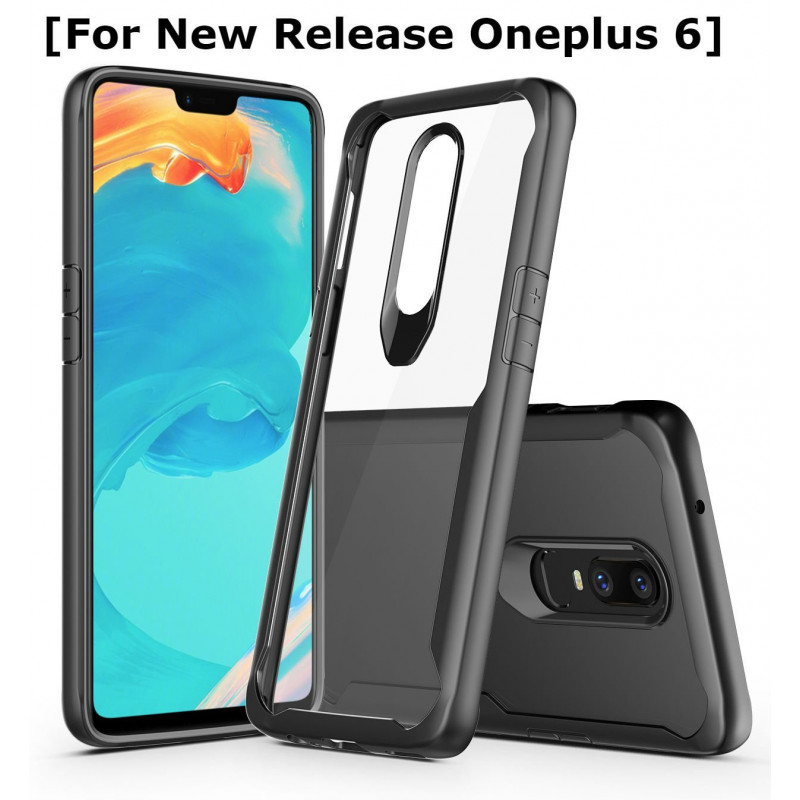 Full Protection Shockproof Armor Back Cover Case for OnePlus 6